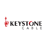 Keystone 42530CAT5E  CAT5E 1M FT PVC w/ 16/4 str