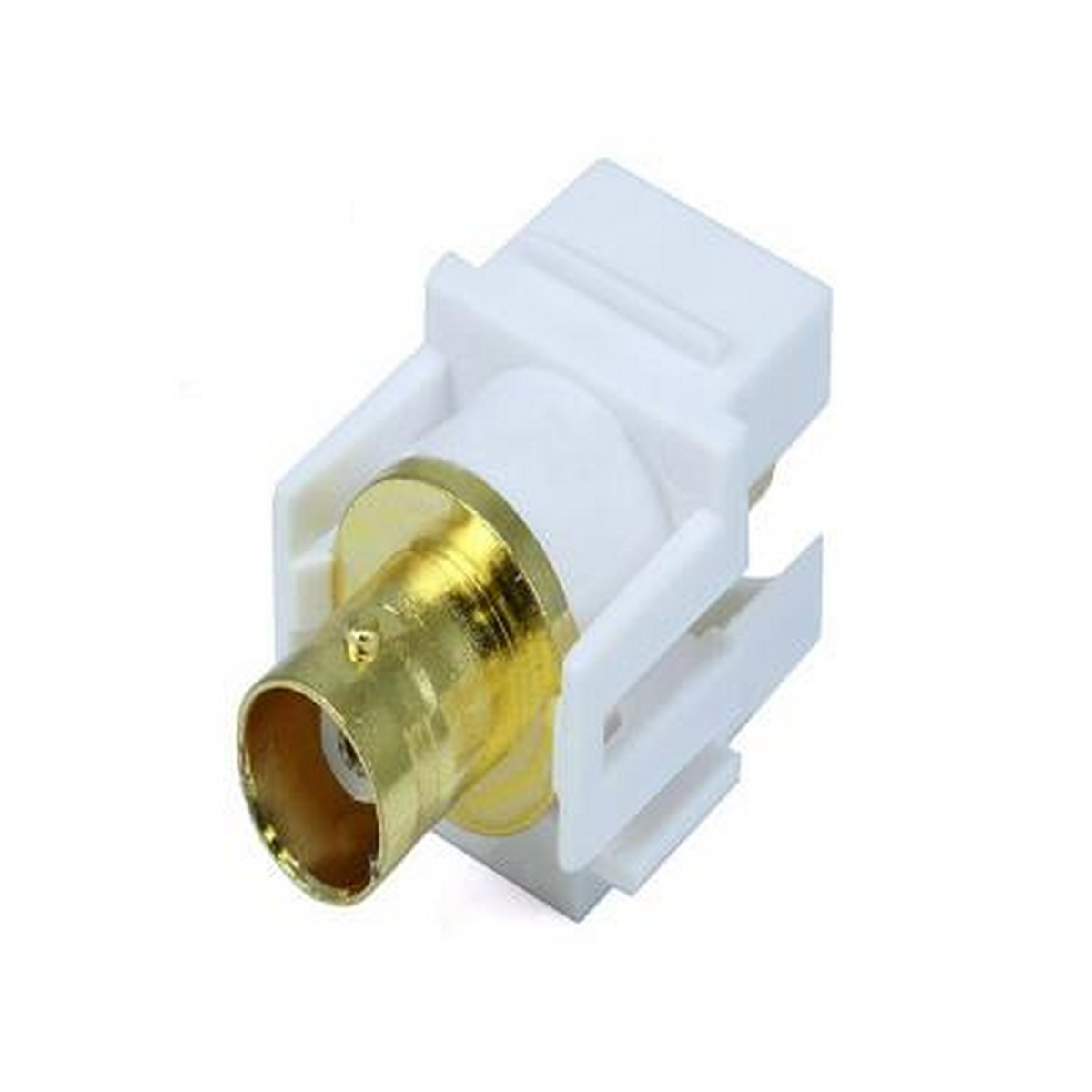 BNC Keystone Connector Passtru