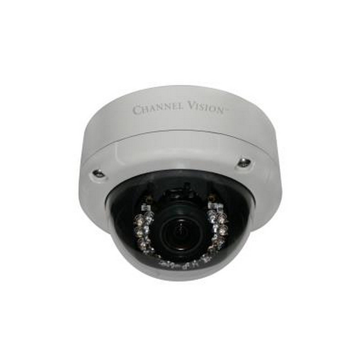 Channel Vision's 6564 2MP IP Dome with IR and POE