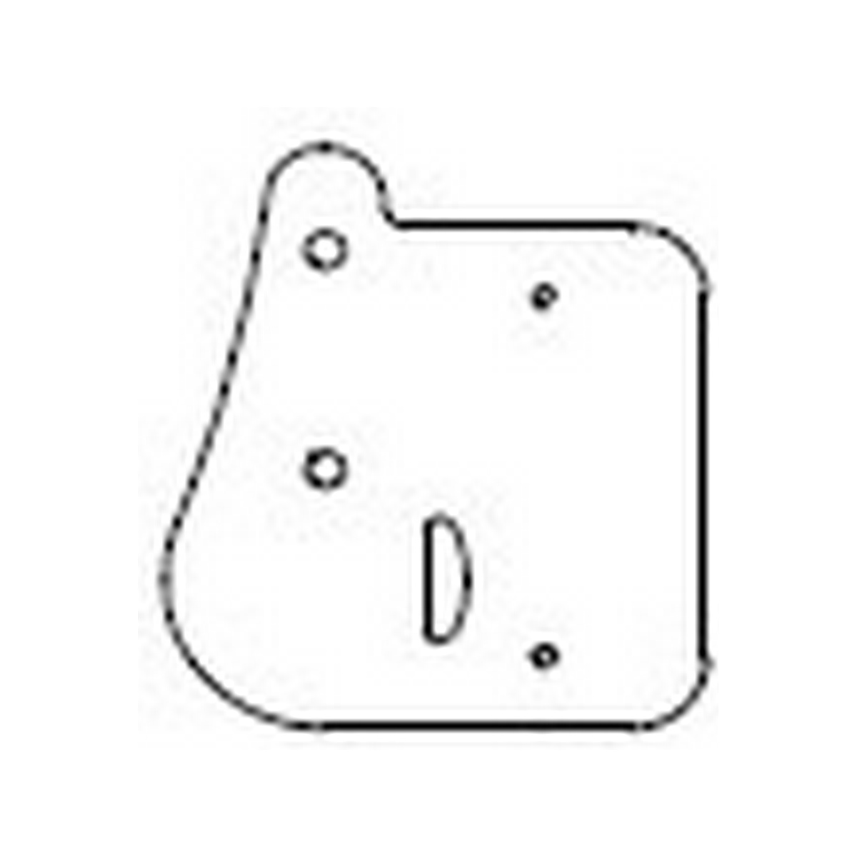 Community DS-WMPB DIST DESIGN DS5/DS8/DS8SUB WIRING BOX COVER PLATE KIT WHITE