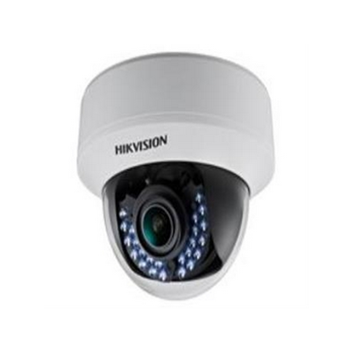 DS-2CE56C5T-AVFIR HIKVISION Indoor IR Dome, HD720p, 2.8-12mm, 30m IR Day/Night, True WDR, Smart IR, UTC Menu, 24VAC/12VDC