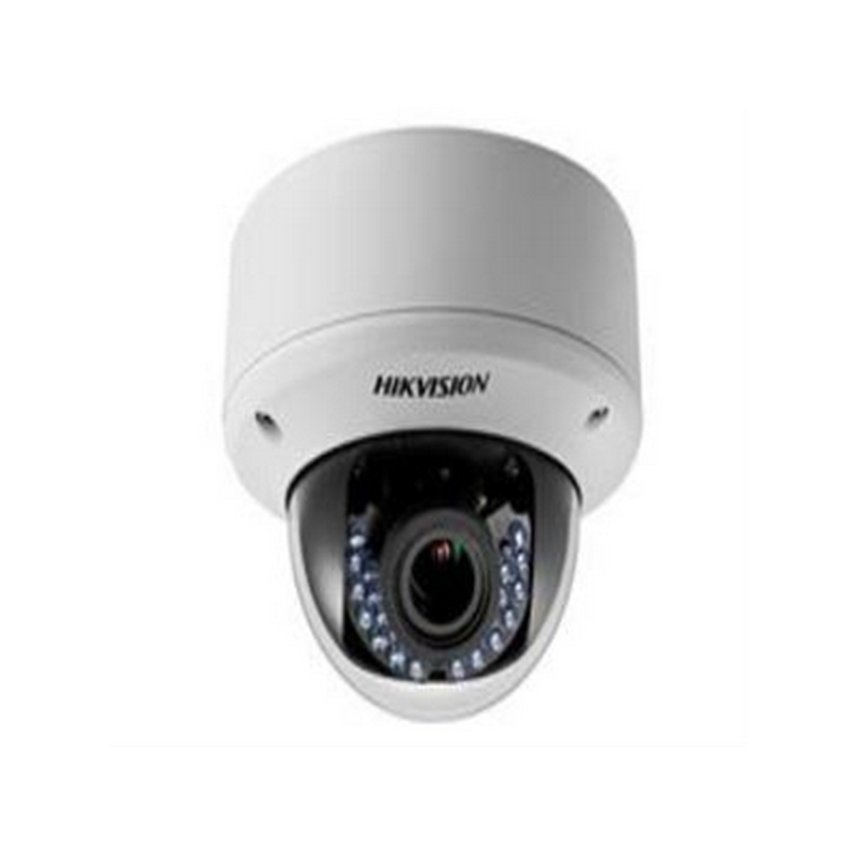 DS-2CE56D5T-AVPIR3 HIKVISION Outdoor IR Dome, HD1080p, 2.8-12mm, 40m IR Day/Night, True WDR, Smart IR, UTC Menu, IP66, 24VAC/12VDC