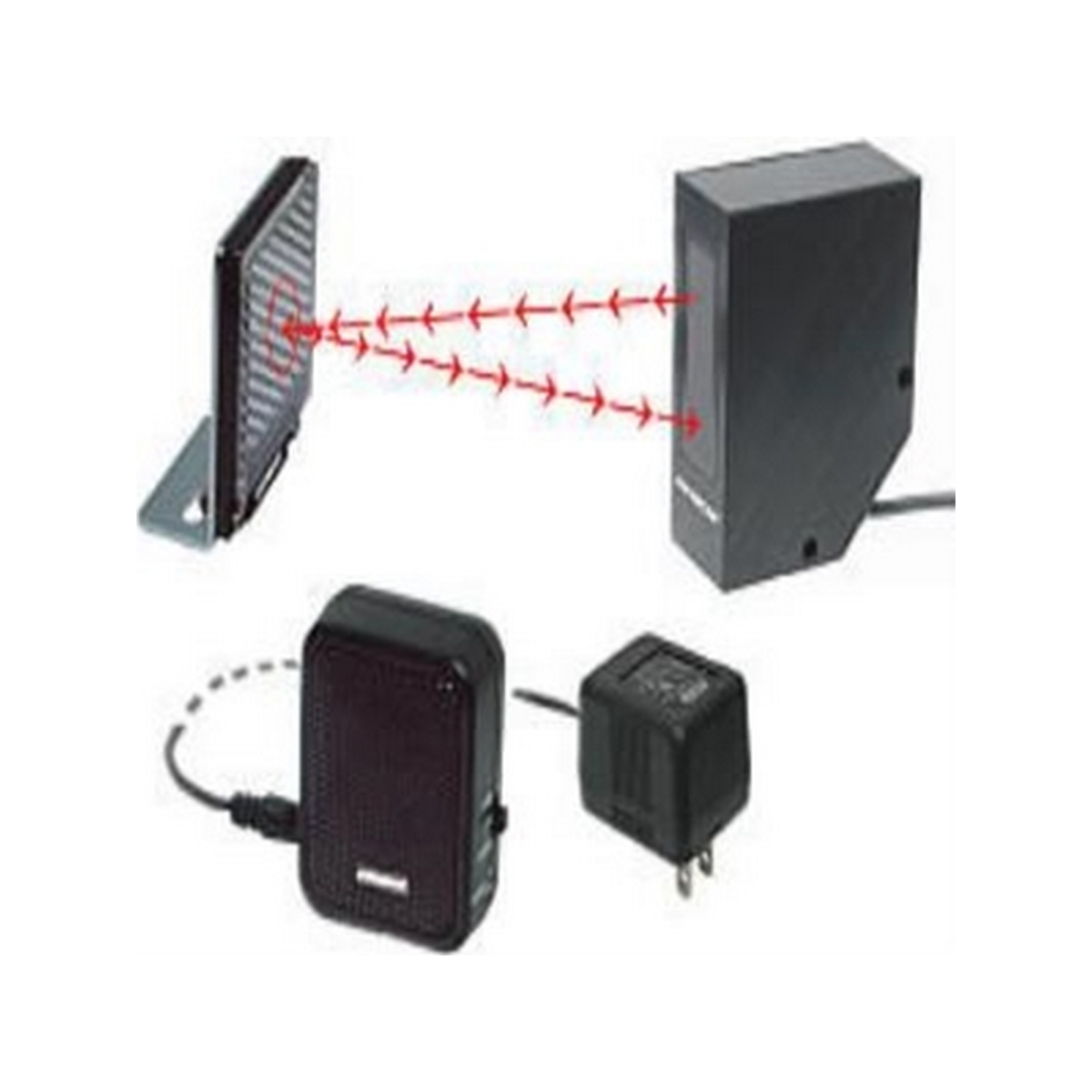Seco-larm E-931CS22RRCQ  Entry Alert System. Reflective beam sensor with chime for door entry indication.