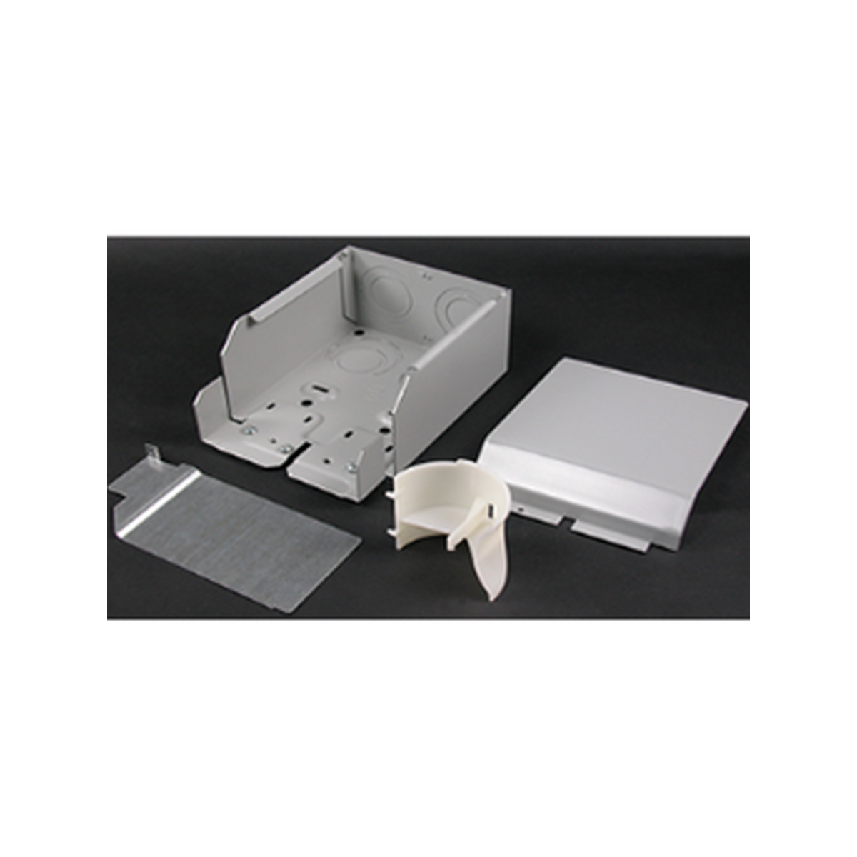 Wiremold 4000 series entrance/end fittings - gray