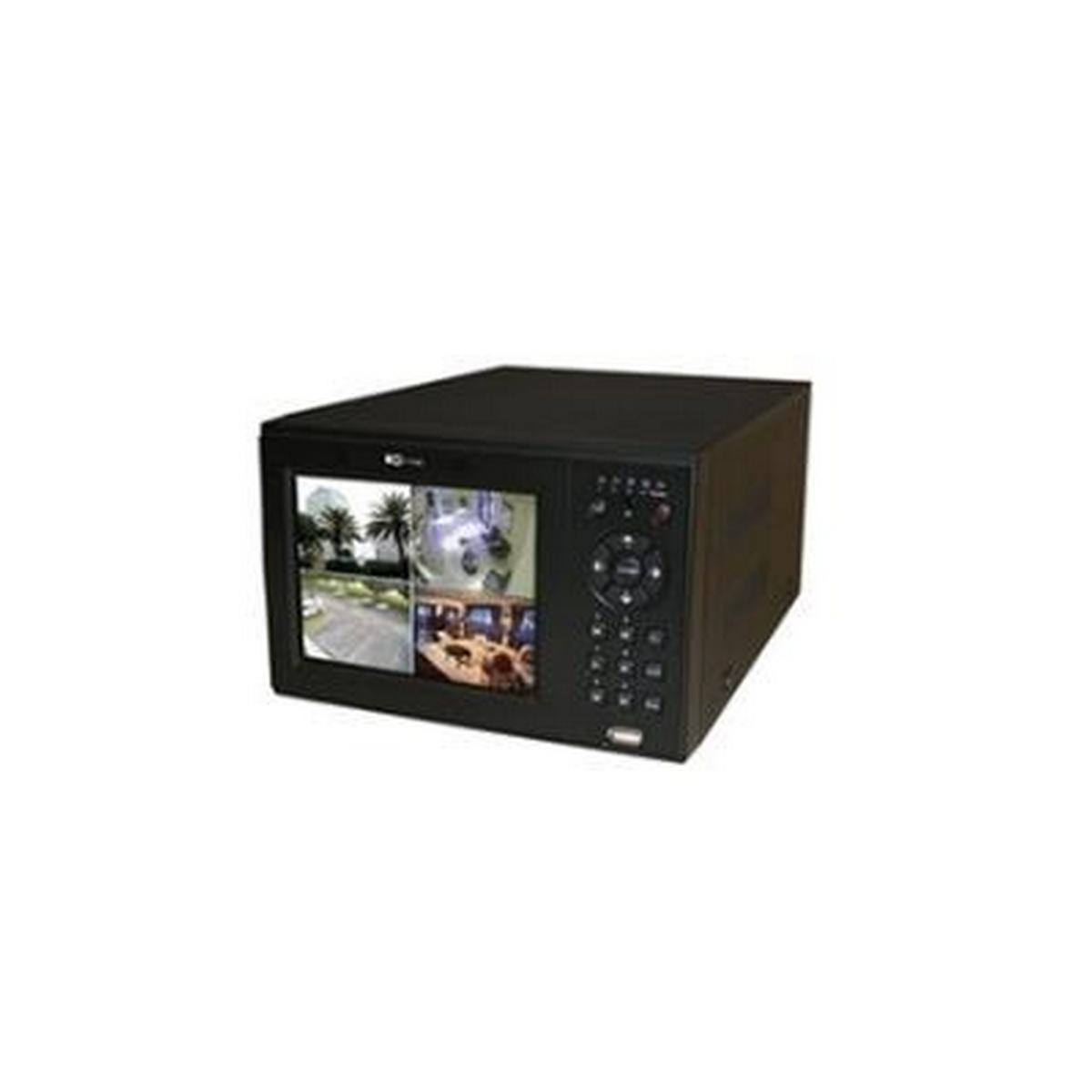 4 CHANNEL DVR - ALL-IN-ONE DVR, FEATURES A 500 GB HARD DRIVE, 120/120 FPS AT CIF UP TO D1 WITH H.264E, PENTAPLEX OPERATION  - NON-RACKMOUNT