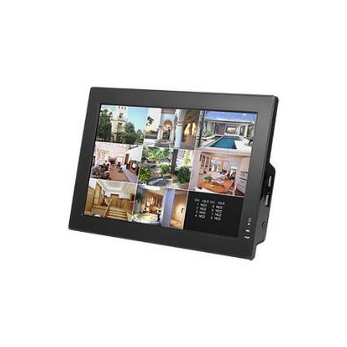 8 CHANNEL DVR - FEATURES A 250GB HARD DRIVE, 10 INCH ALL-IN-ONE LCD, 240/240 FPS AT CIF, UP TO D1 RESOLUTION WITH H.264E, PENTAPLEX OPERATION - NO DVD