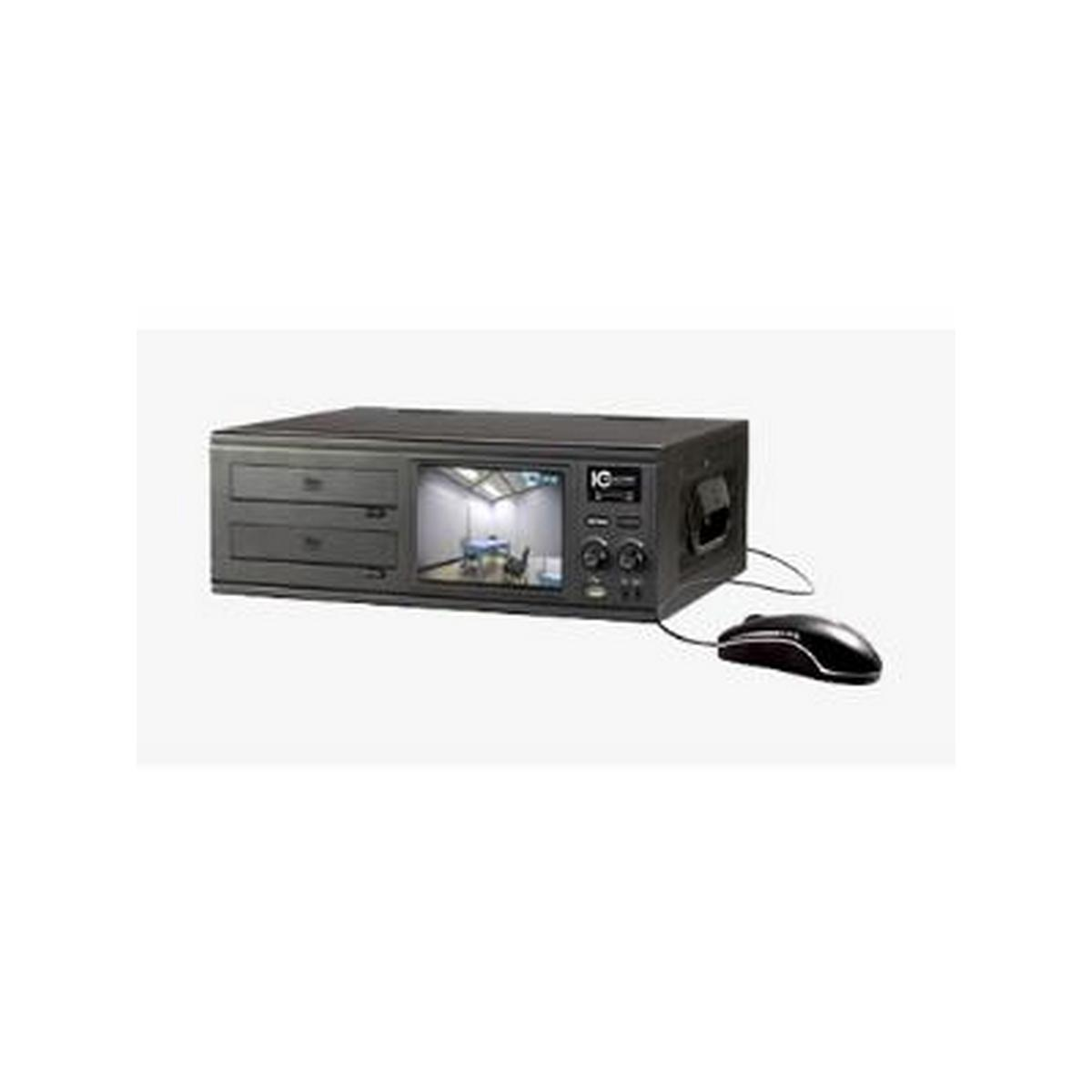 4 CHANNEL DVR - FORENSIC DVR, FEATURES A 500 GB HARD DRIVE, 120/120 FPS AT CIF UP TO D1 WITH H.264E, PENTAPLEX OPERATION - NON-RACKMOUNT, DUAL WITH DVD
