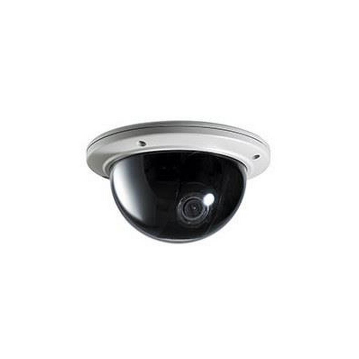 INDOOR/OUTDOOR WHITE DOME, 1/3 I-SNIPER PIXIM 960H IMAGE SENSOR, 690TV LINES, 3.3-12MM LENS, TRUE WDR, 12VDC/24VAC, NO POWER SUPPLY INCLUDED