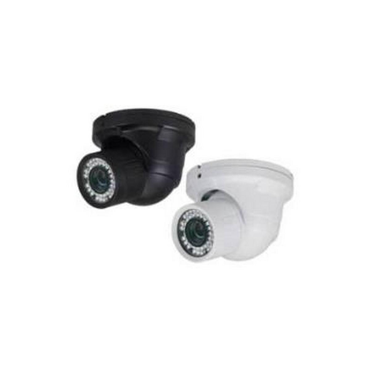 INDOOR/OUTDOOR VANDAL BLACK IR DOME, 1/3 SONY SUPER HAD II, 600TV LINES, SSNRIII, 2.8-12MM LENS, 75FT IR, 12VDC/24VAC - NO POWER SUPPLY INCLUDED