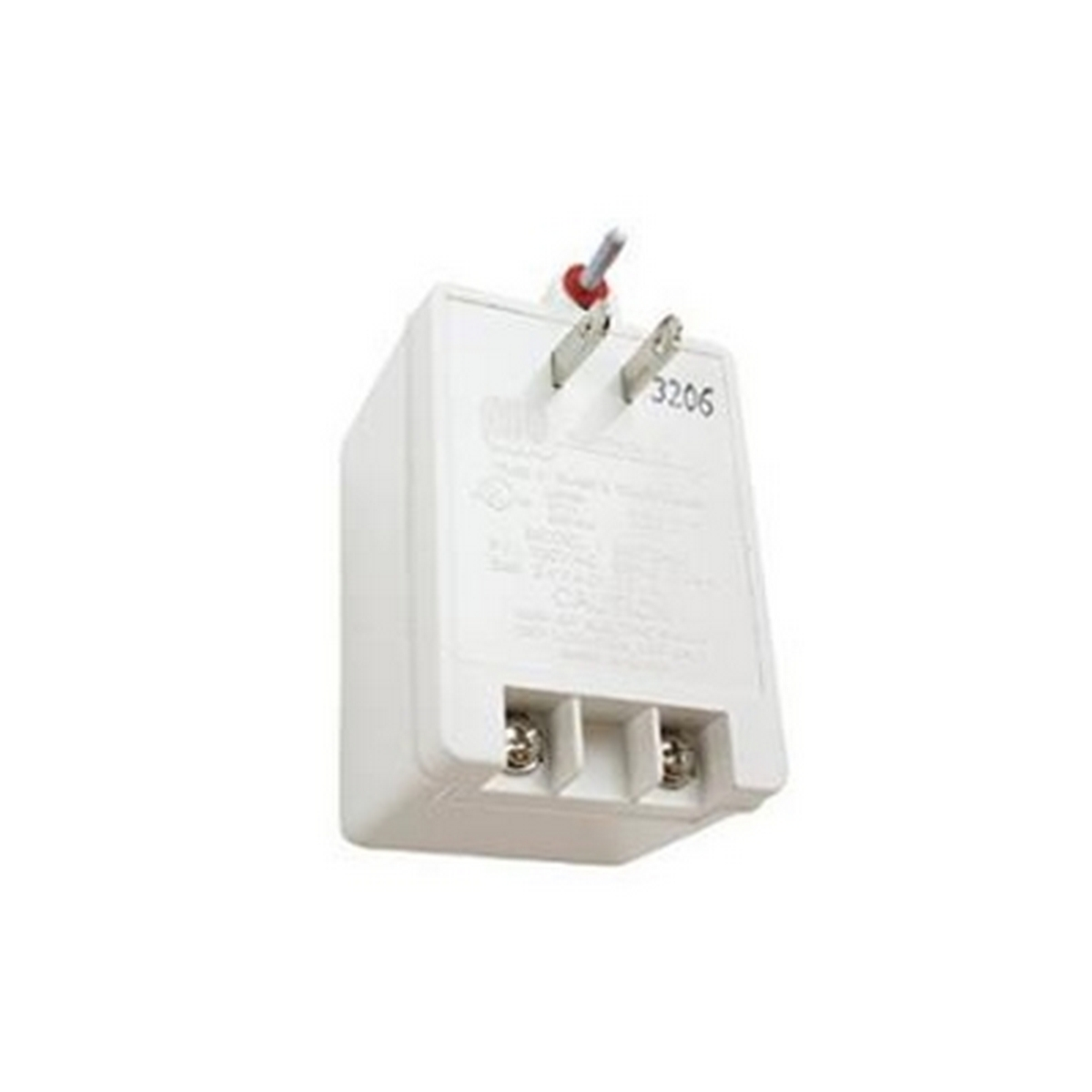 MG Electronics MGT2420 24 VAC 20 VA Class II Plug-In Power Supply, UL/CSA Approved, White Housing