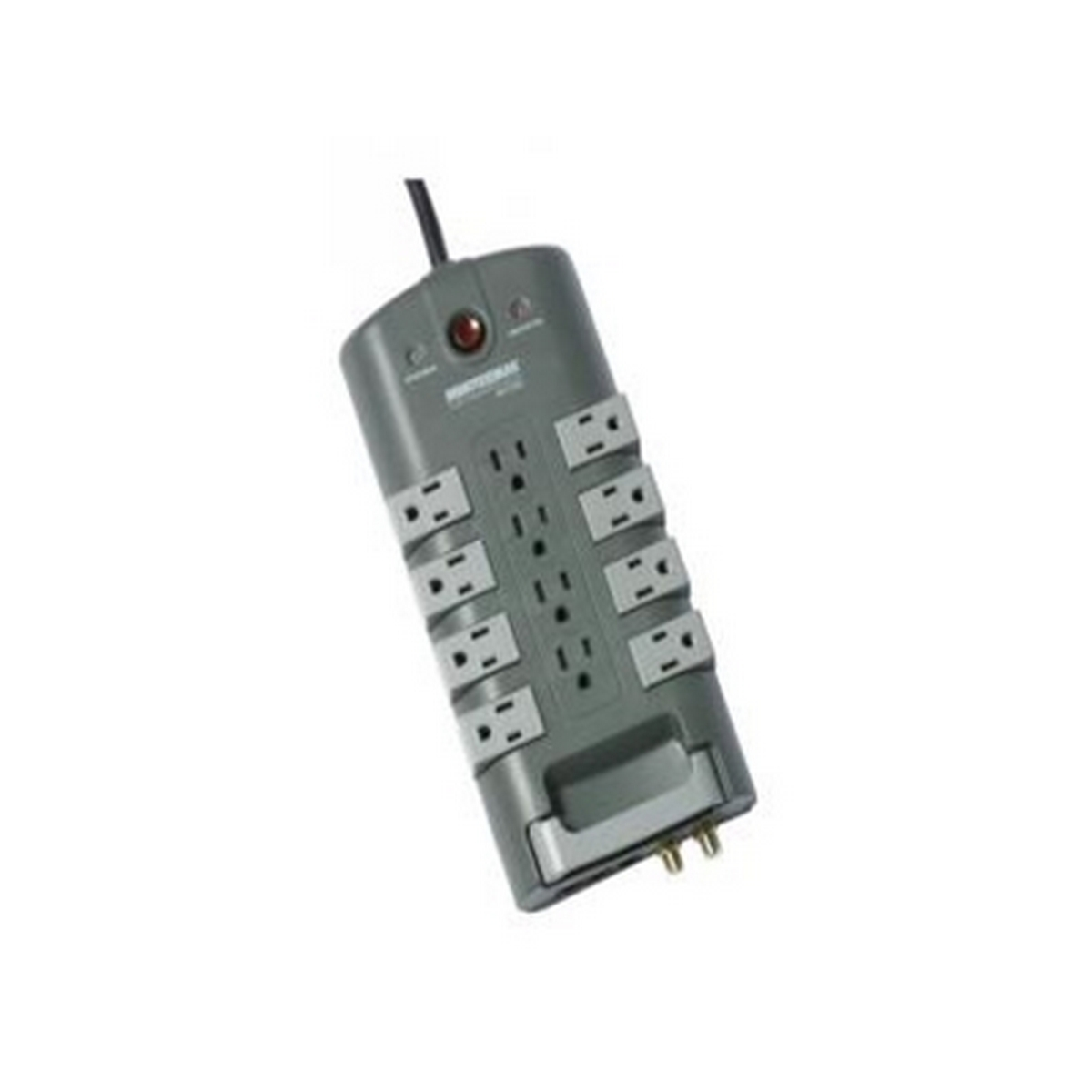 8-rotating outlets, coax/phone/LAN prot., 4320J
