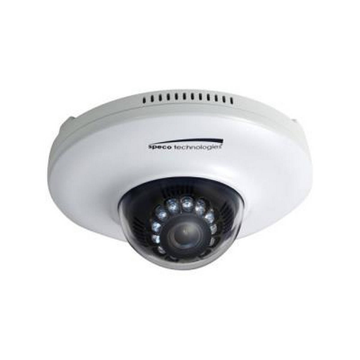 Speco 1080p Indoor Dome IP Camera 3mm fixed lens, color, IR