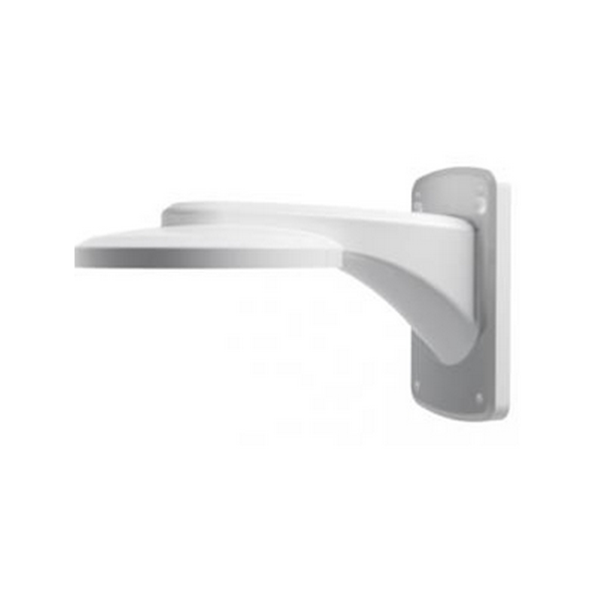 Dahua Material: Aluminum,Color: White,Dimension: 250mm*160mm*102mm,Weight: 0.8Kg Wall Mount Bracket PFB201W