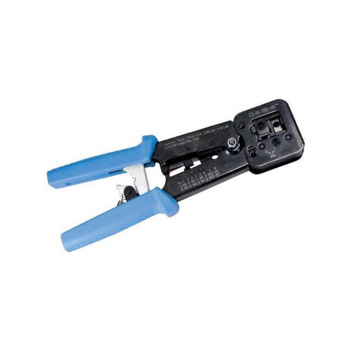 Platinum Tools 100054CEZ-RJ PRO HD Crimp Tool.  Clamshell.