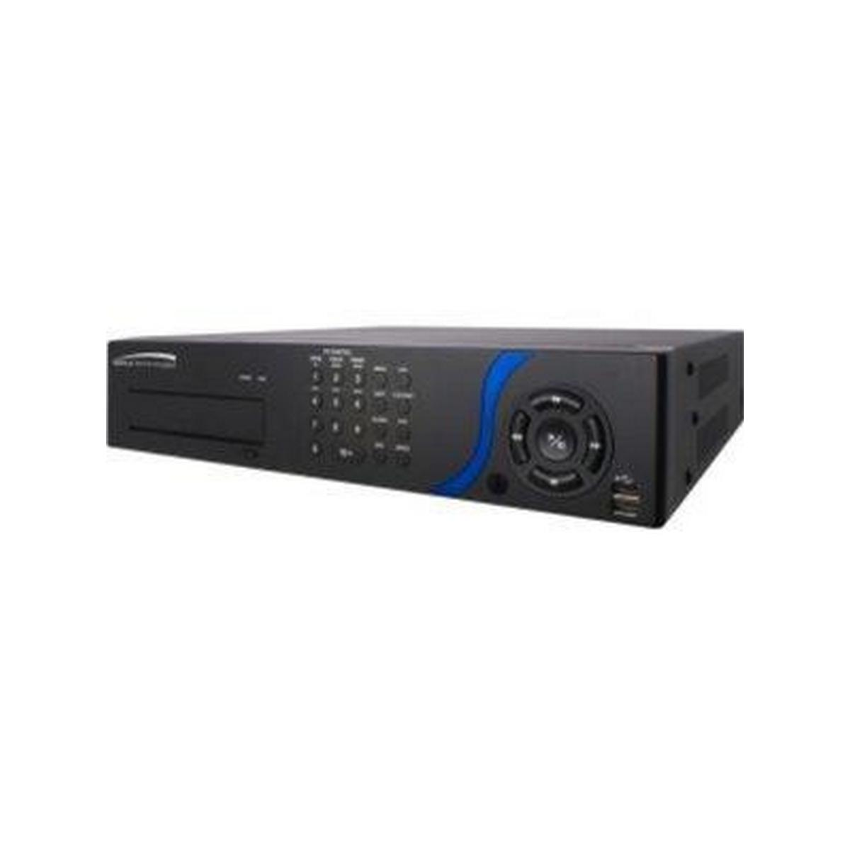Speco D16LS1TB 16 Channel Embedded DVR with Loop outs, 1TB HDD