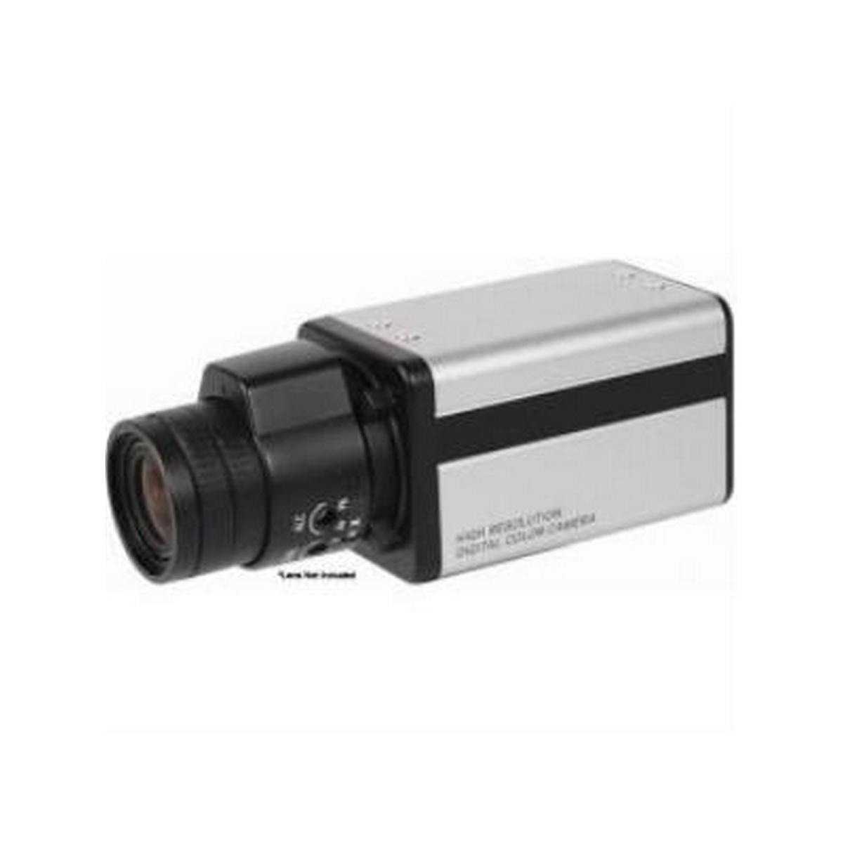 Speco HCLR07L0G Traditional Box 650TVL, 12/24, C/CS lens (not included) OSD, Grey Housing