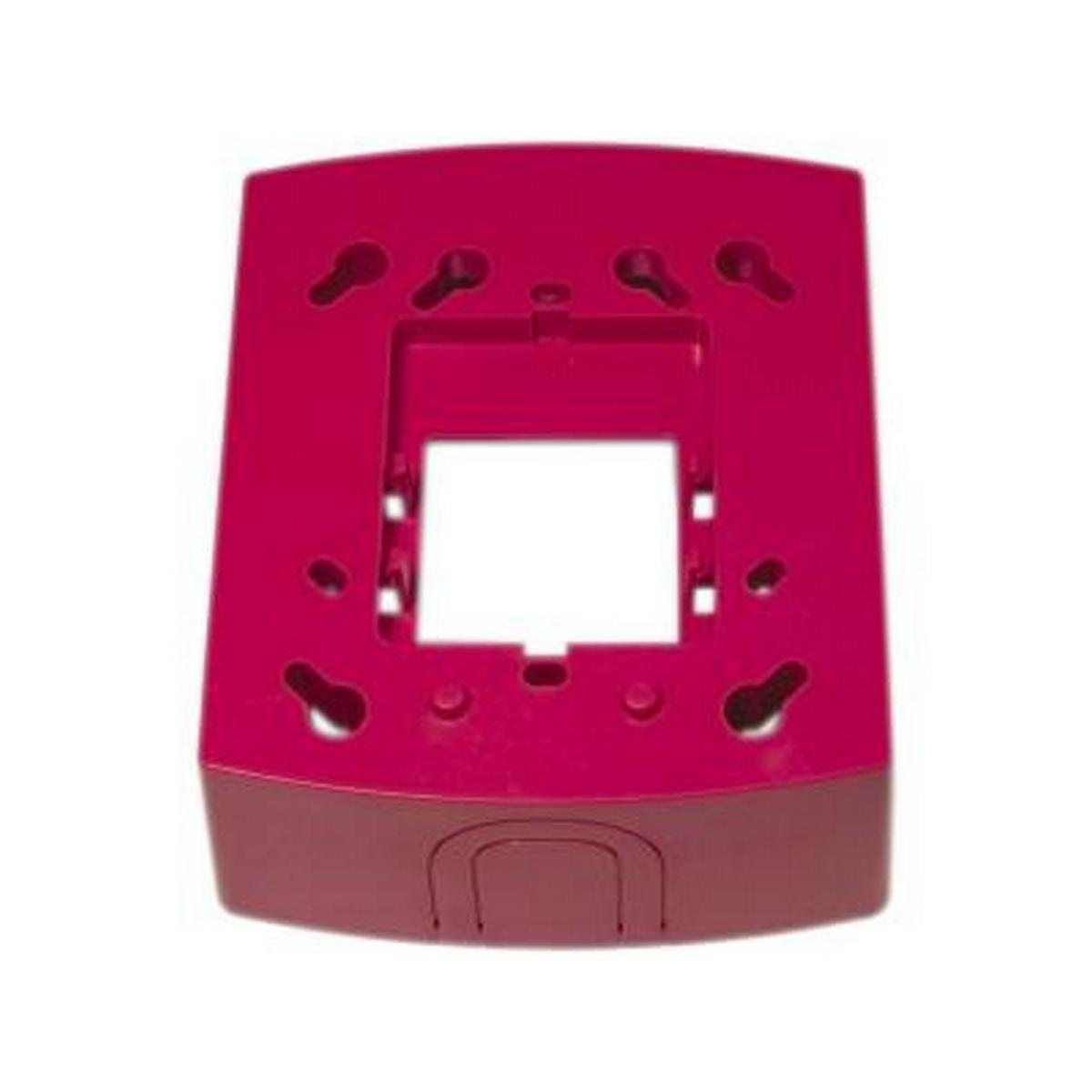 System Sensor BBS-2  wall mount back box skirt, red