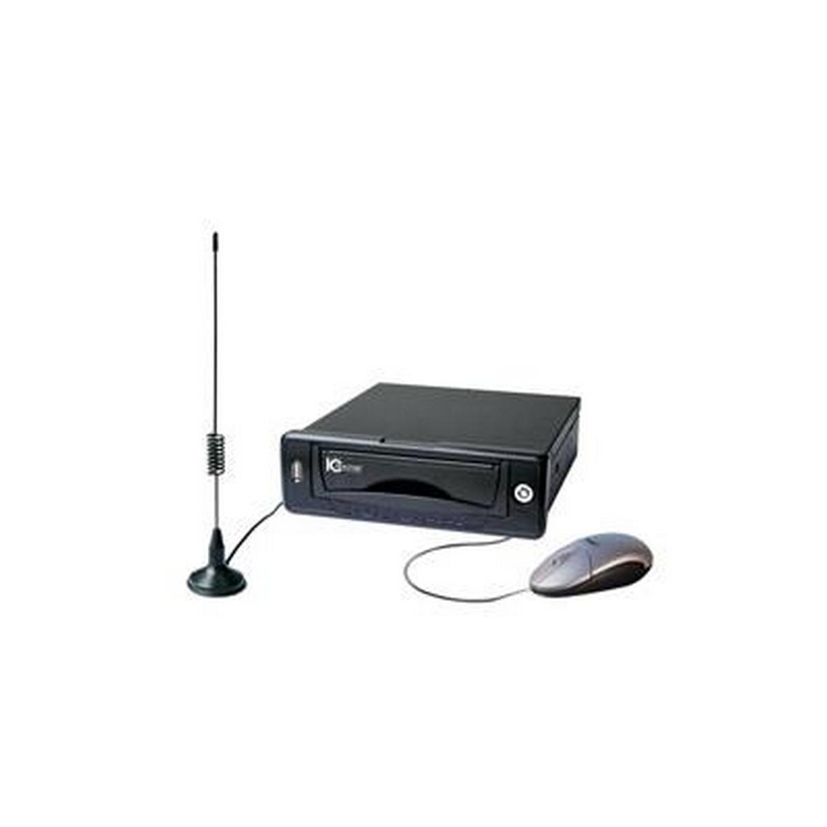 4 CHANNEL MOBILE DVR - FEATURES A 250 GB HARD DRIVE, 120/120 FPS AT CIF, UP TO D1 WITH H.264E WITH GPS, SINGLE DIN NO DVD