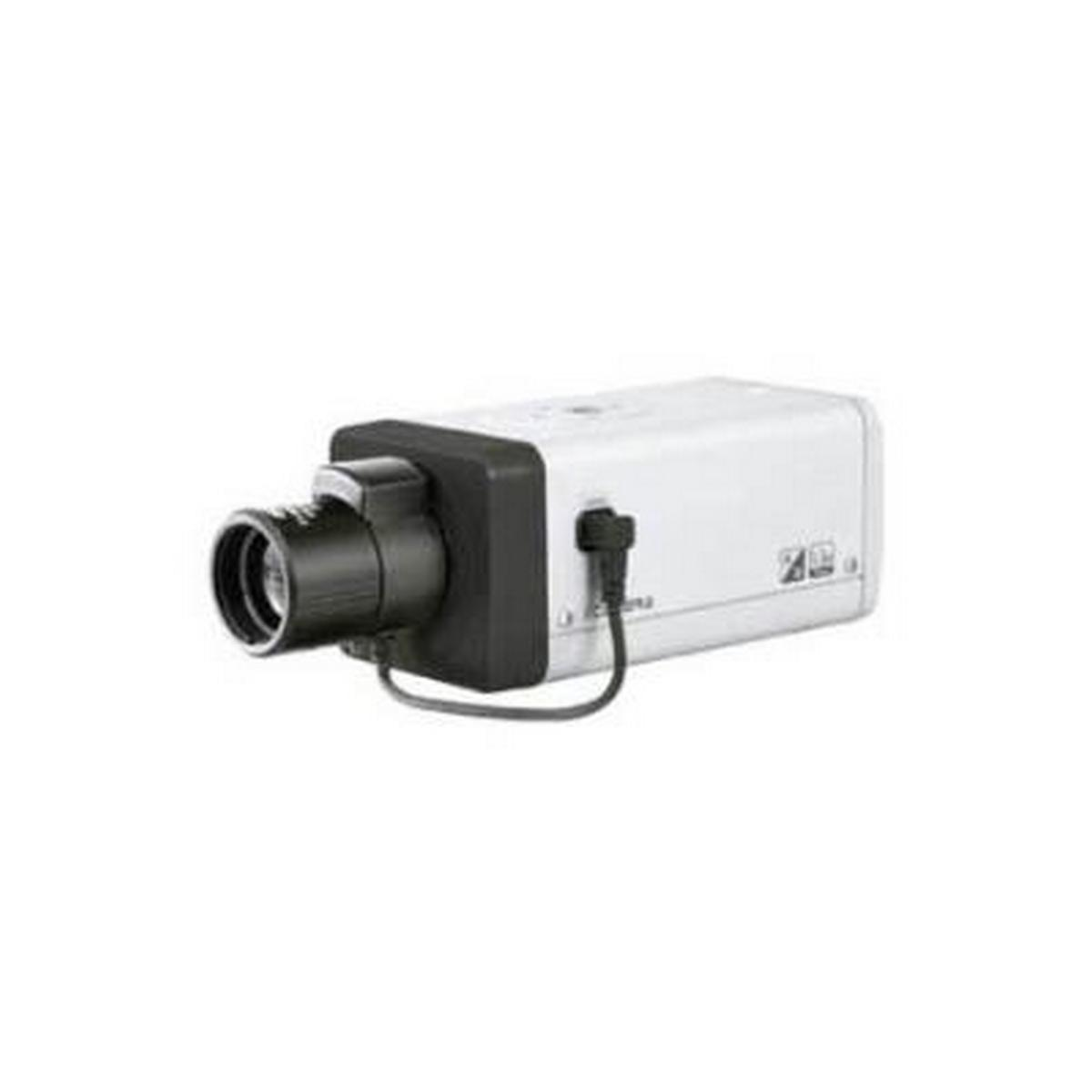 BOX STYLE MEGAPIXEL IP WDR CAMERA, 1.3 MEGAPIXEL, 1080P AT 30 FPS WITH H.264E COMPRESSION, 12VDC/24VAC OR POE 802.3AF - NO POWER SUPPLY OR LENS INCLUDED