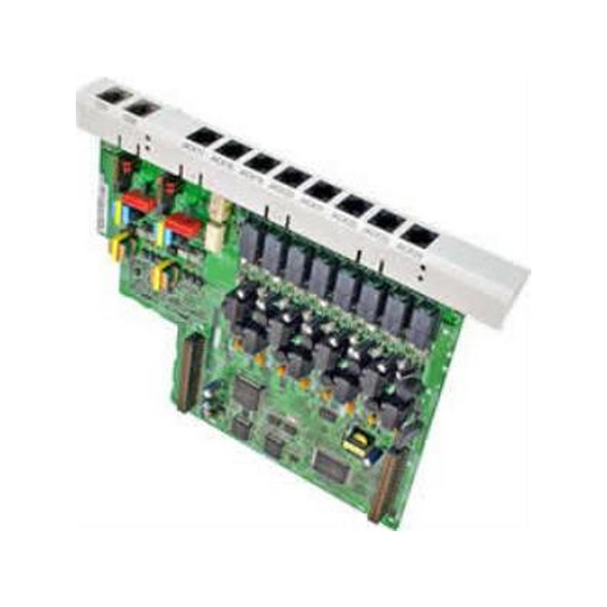 Panasonic KXTA82481  2 PORT ANALOG CO LINE AND 8 PORT HYBRID EXTENSION CARD