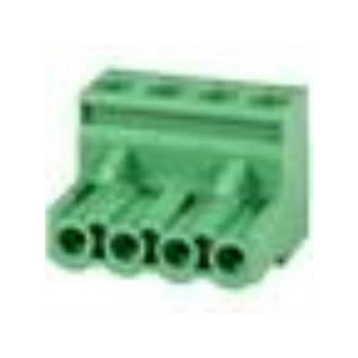 Phoenix Type Connector 4-Pole 5mm Pitch 4-Pack
