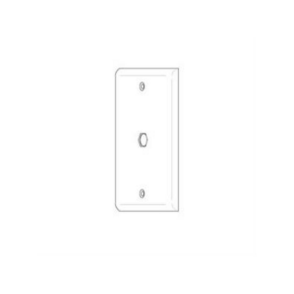 Vanco 120040 WP HEX HOLE WHT