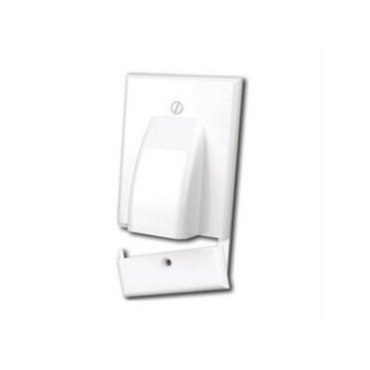 Vanco 120617 WP BULK CBL HINGED 1 GANG WHT