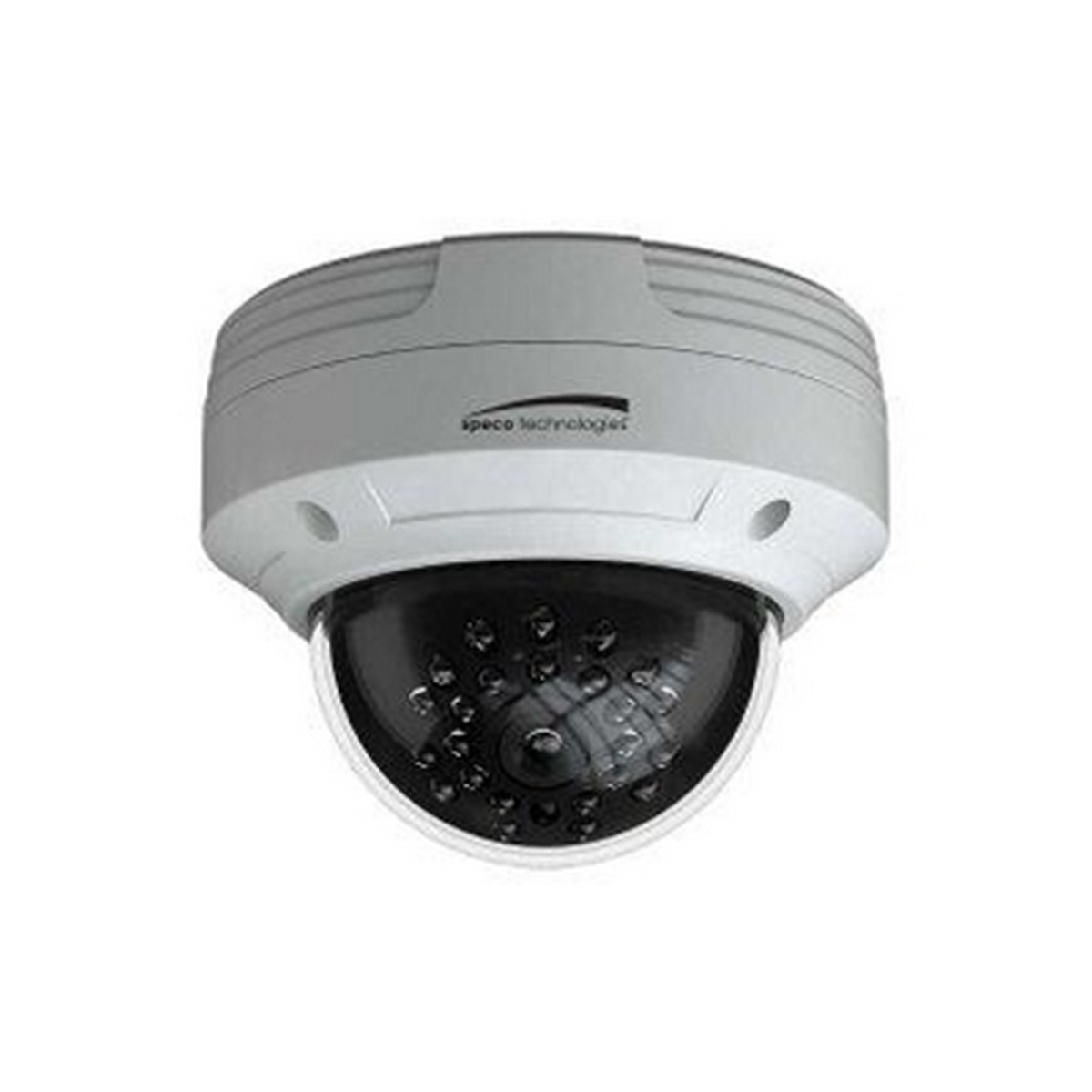 2MP 1080P Outdoor Dome, TVI, IR, 3.6mm Lens, White