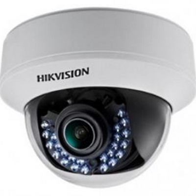 DS-2CE56D5T-AVFIR HIKVISION Indoor IR Dome, HD1080p, 2.8-12mm, 30m IR Day/Night, True WDR, Smart IR, UTC Menu, 24VAC/12VDC