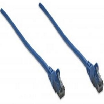 Intellinet CAT6 Data Patch Cable - 10ft - Blue