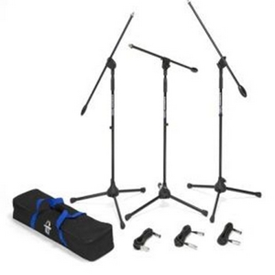 Samson BL3VP Boom Stand & Cable (3-Pack)
