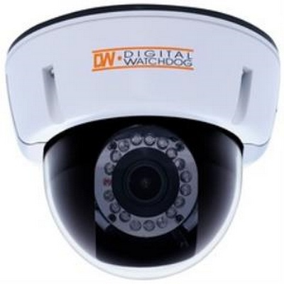 Digital Watchdog D2362DIR   Indoor dome, 540 Lines, 3.3-12mm  dual voltage, w/IR