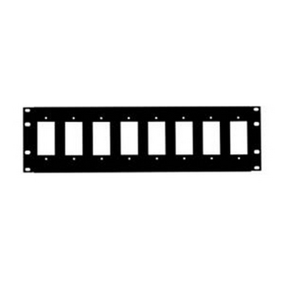 Ethereal CS-RDECO8 3U BLACK RACK PANEL