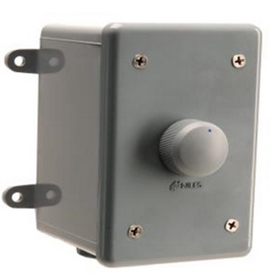 Niles WVC100E Weatherproof Stereo Volume Control w/Select. Impedance; Enclosure and Face - Gray