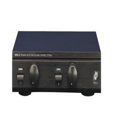 Niles SSVC-2 Speaker Selector with Volume Controls for Two Pairs of Speakers