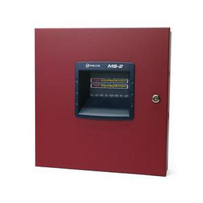 Fire-Lite MS-2  2 ZONE FIRE ALARM