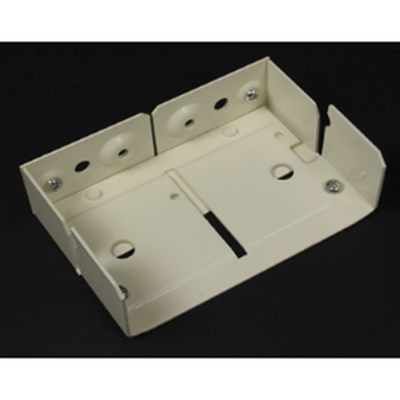 Wiremold 4000 series 90 degree internal corners. Fiber bushing included-gray