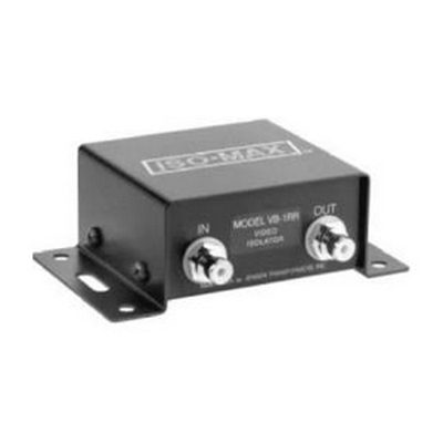 Jensen VB-1RR Composite video isolator, 75O single channel with RCAs