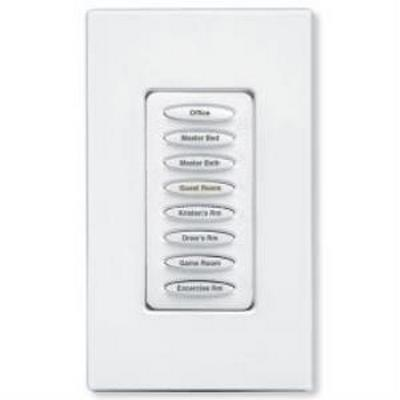 Keypad Controller, Load Dimmer, 400W Max, 8 Button