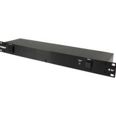15A STANDARD POWER CONDITIONER, 1RU RACK UNIT SPACE, 6FT CORD