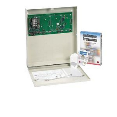 Single door access control panel. contains MAX 3 door control module- can support up to 3 add'l MAX3 Control modules