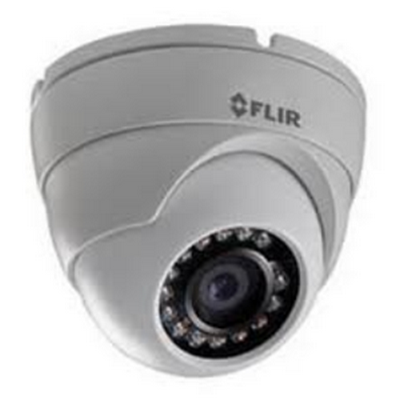 Mini Eyeball Dome, 1MP, 720P@30fps, 3.6mm, IR LED's, POE / 12V, ONVIF, dual streaming