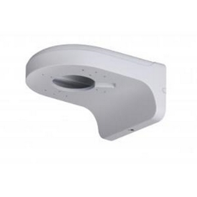 Dahua Material: Aluminum,Color: White,Dimension: 160mm*122mm*76mm,Weight: 0.49Kg Wall Mount Bracket PFB204W