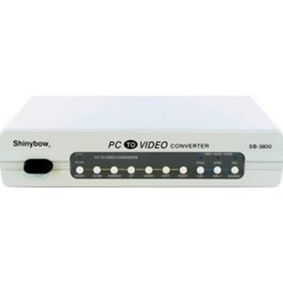 ShinyBow  VGA Down To Composite or S-Video TV NTSC/PAL System