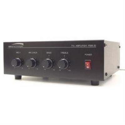 Speco PBM30 30W Contractor Series PA Amplifier  UL Listed