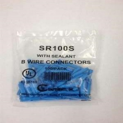B Connectors in 100 Paks With Silicone