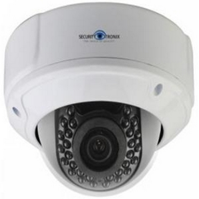 "Securitytronix ST-IP-D2.4PRO-W 2.4 mp IP cameras  1/3"" CMOS sensor  4x zoom 2.8 - 12.mm 12VDC or POE ONVIF 2.0, IP66"