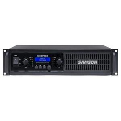 Samson 2 x 1000 watts (4 ohms) Power Amplifier with DSP
