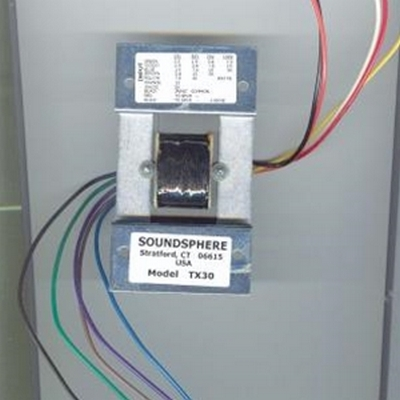SoundsphereTX60  60 Watt Transformer For use with: