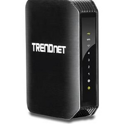 Trendnet TEW-752DRU N600 High Power Dual Band Wireless N Gigabit Router w/USB port